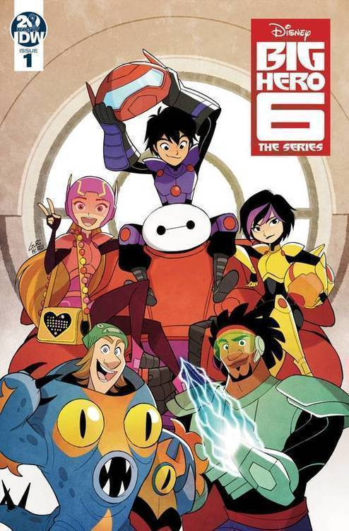 Idw publishing big hero 6 the series 20190129