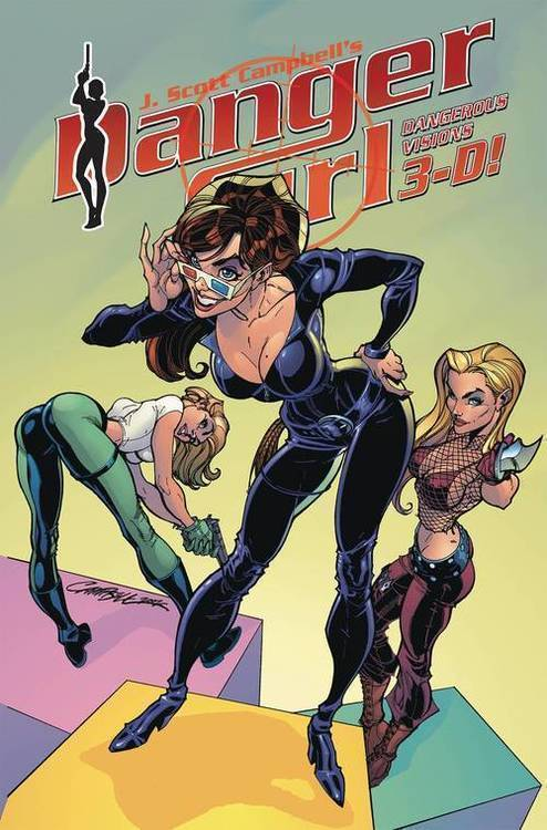 Idw publishing danger girl dangerous visions 3 d 20181130