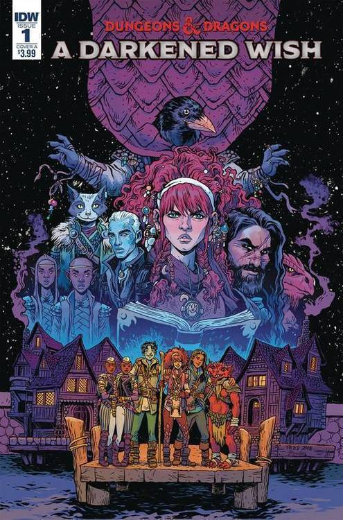 Idw publishing dungeons dragons a darkened wish 20181130