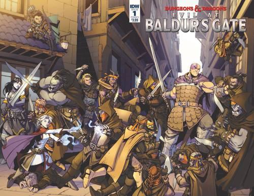 Idw publishing dungeons dragons evil at baldurs gate 20180203