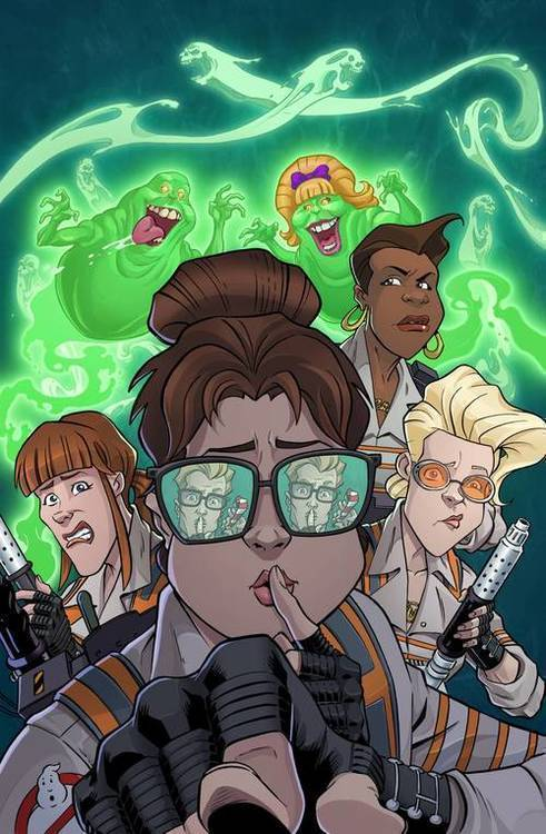 Idw publishing ghostbusters 35th anniversary answer the call ghostbusters 20190129