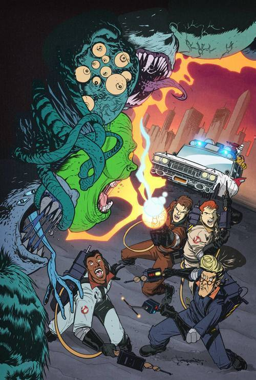 Ghostbusters 35th Anniversary Real Ghostbusters