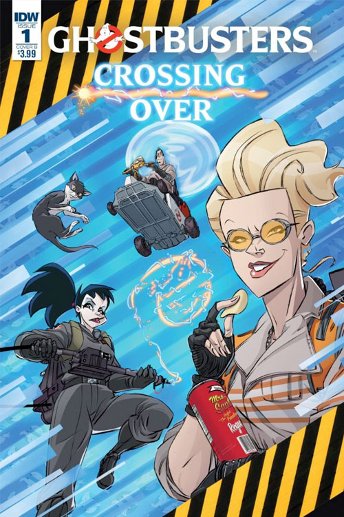 Idw publishing ghostbusters crossing over