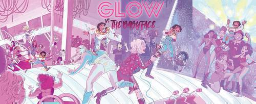 Idw publishing glow vs the babyface 20190828