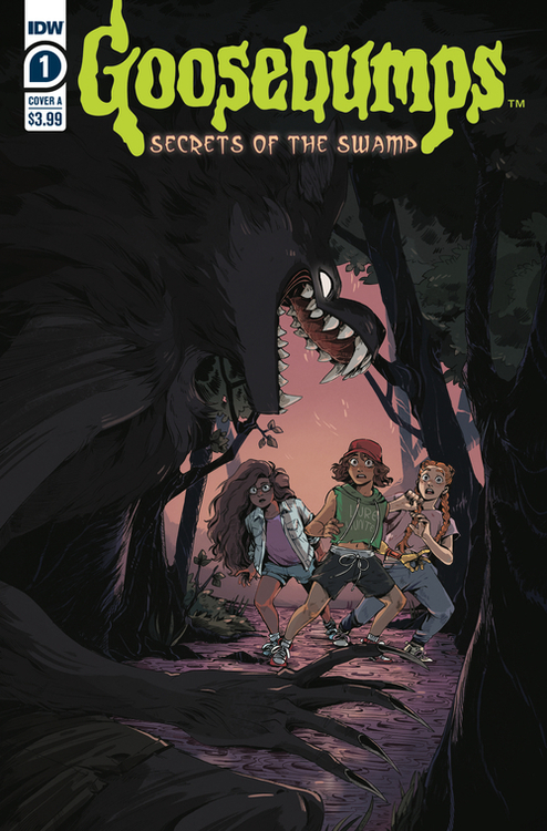 Idw publishing goosebumps secrets of the swamp 20200627