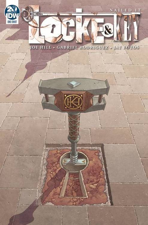 Idw publishing locke key dog days 20190730