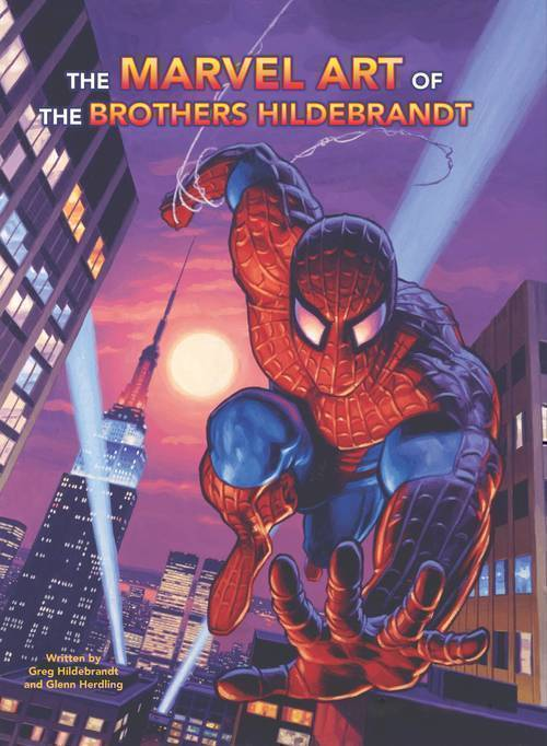 Marvel Art Of Brothers Hildebrandt Hardcover
