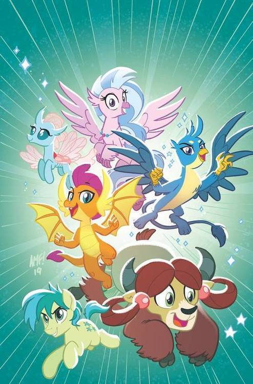 Idw publishing my little pony feats of friendship 20190529
