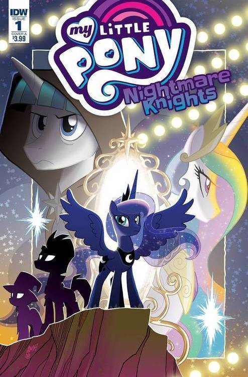 Idw publishing my little pony nightmare knights 20180801
