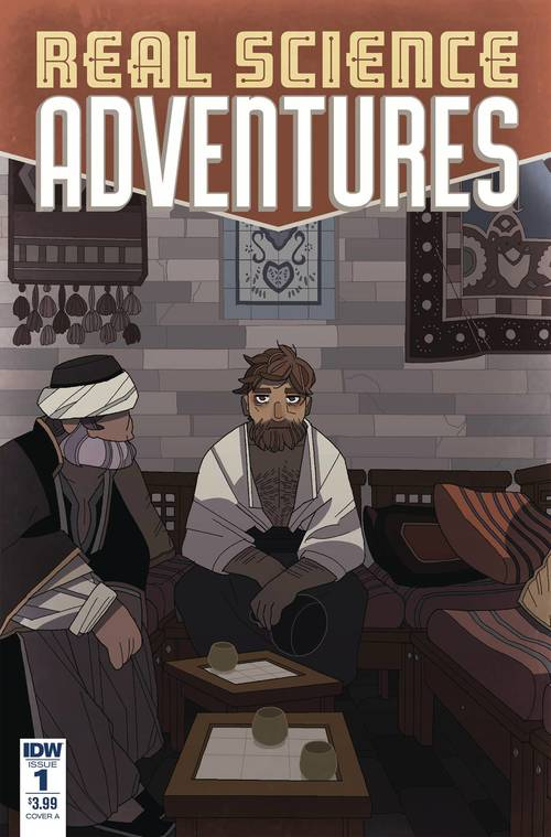 Idw publishing real science adventures nicodemus job 20180430