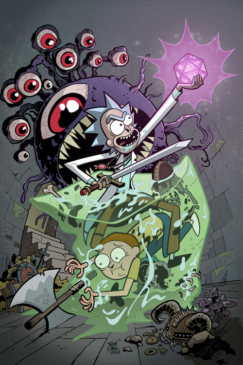 Idw publishing rick morty vs dungeons dragons 20180530