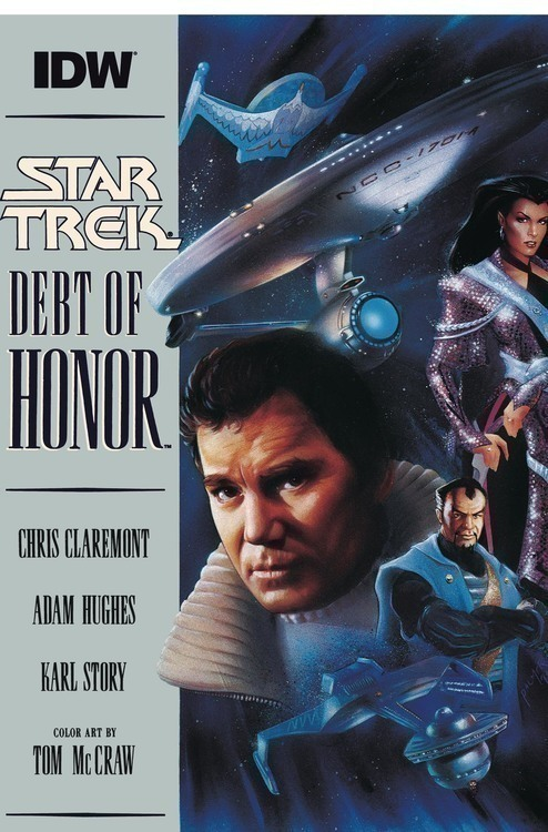 Idw publishing star trek debt of honor facsimile ed 20200328
