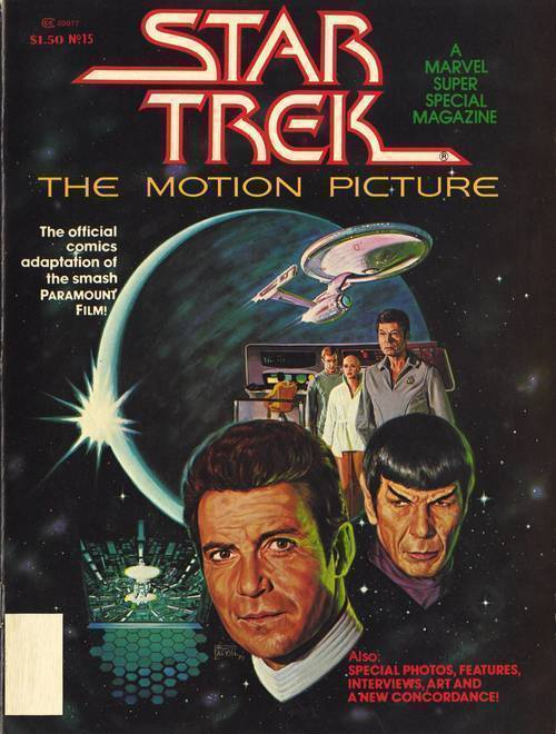 Idw publishing star trek motion picture facsimile edition 20190926