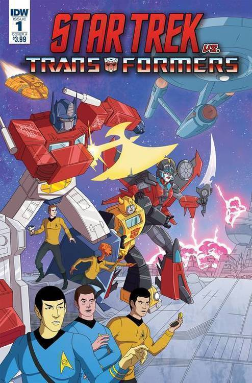 Idw publishing star trek vs transformers 20180701