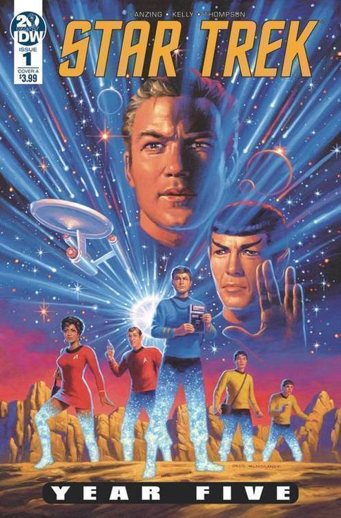 Idw publishing star trek year five 20190129