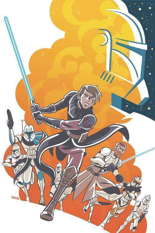 Star Wars Adventures Clone Wars
