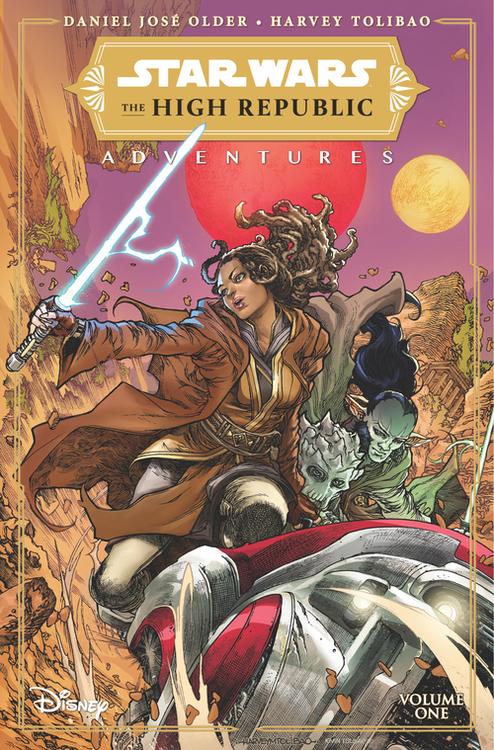 Idw publishing star wars high republic adventures tpb 20210630