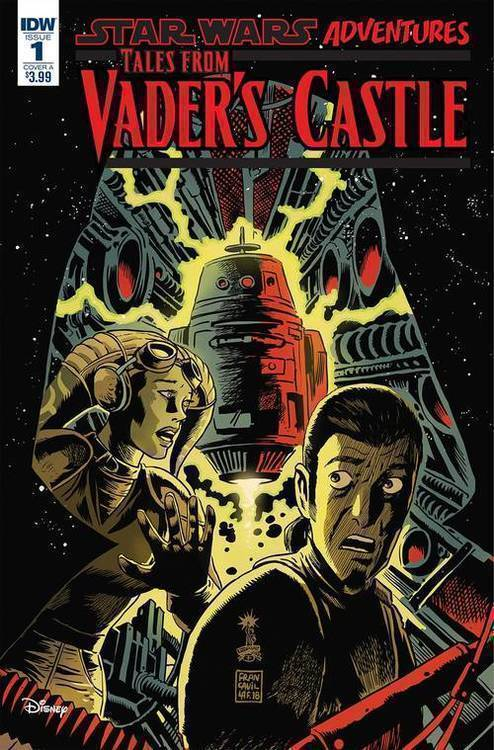 Idw publishing star wars tales from vaders castle 20180801
