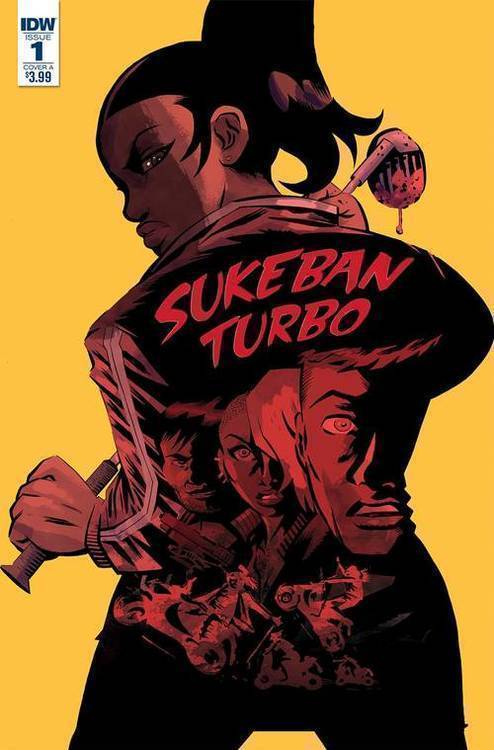 Idw publishing sukeban turbo 20180830