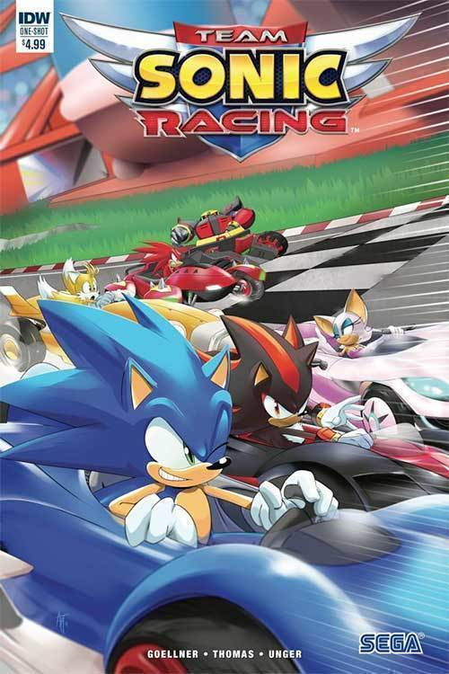 Idw publishing team sonic racing plus deluxe turbo championship edition 20190225