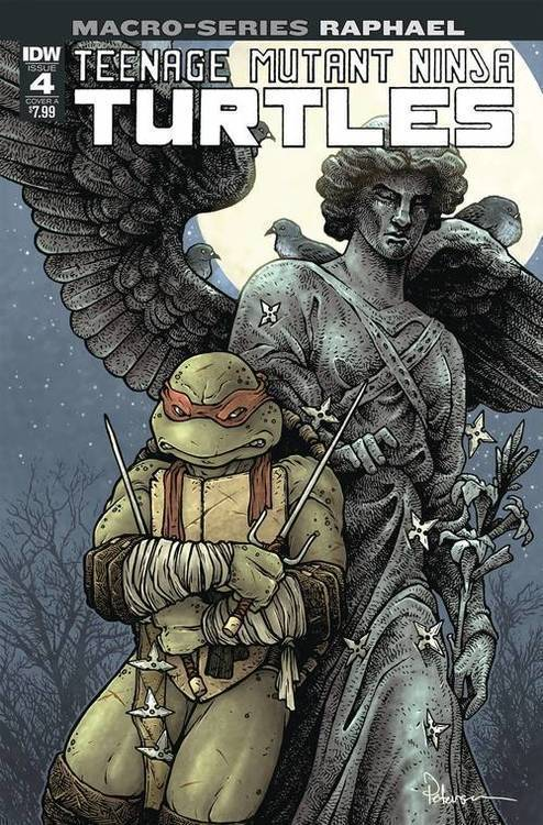 TMNT Macroseries #4 Raphael