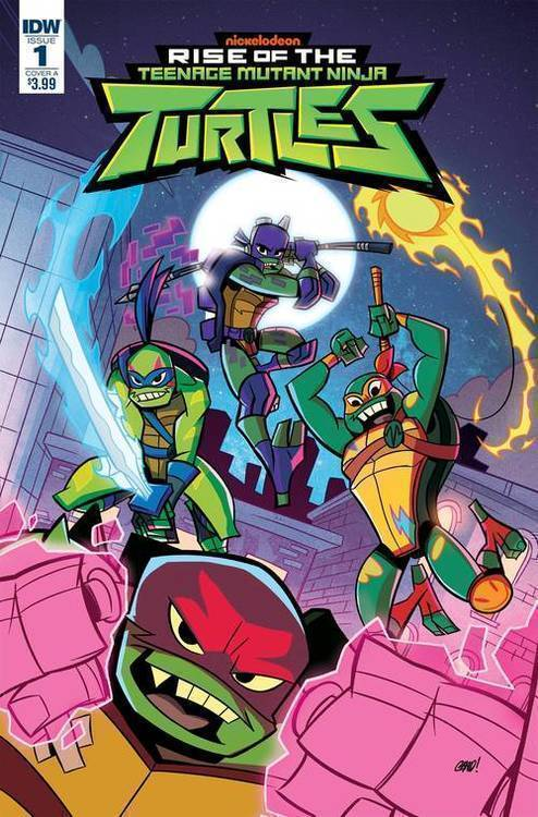 Idw publishing tmnt rise of the tmnt 20180701