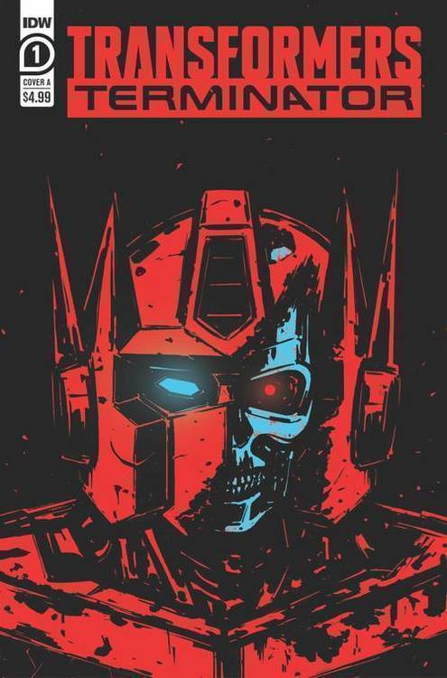 Idw publishing transformers vs terminator 20191227