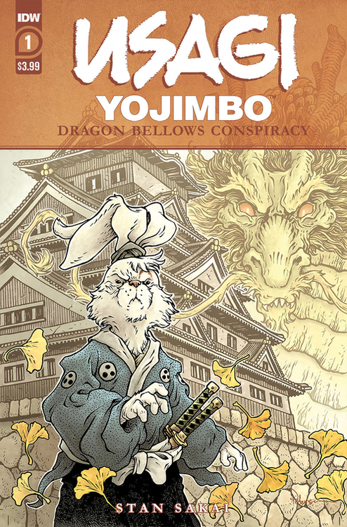Usagi Yojimbo Dragon Bellow Conspiracy