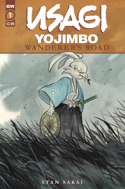 Idw publishing usagi yojimbo wanderers road 20200902