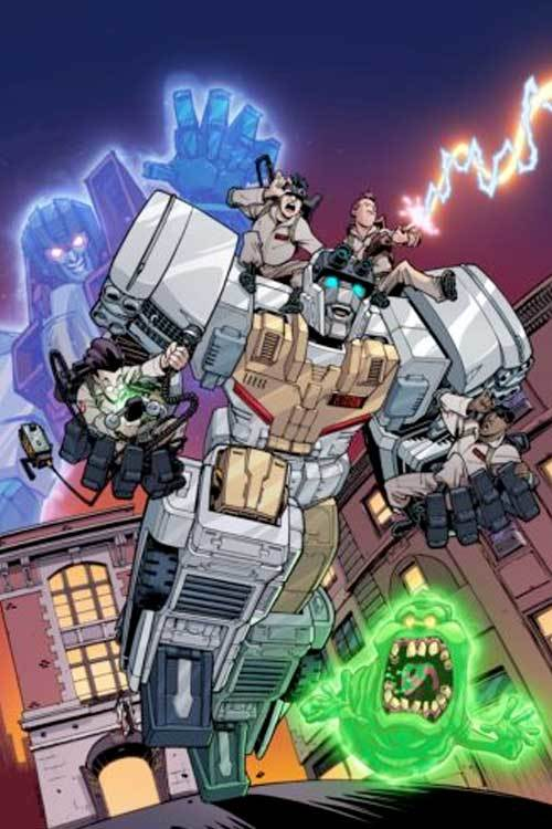 Idw transformers ghostbusters
