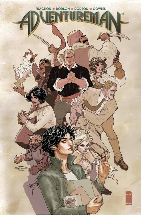 Image comics adventureman hardcover volume 01 20200730