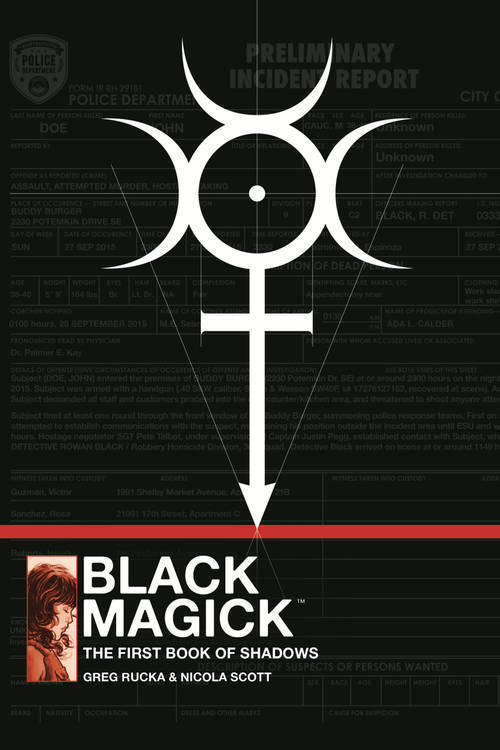 Image comics black magick hc mr 20181231