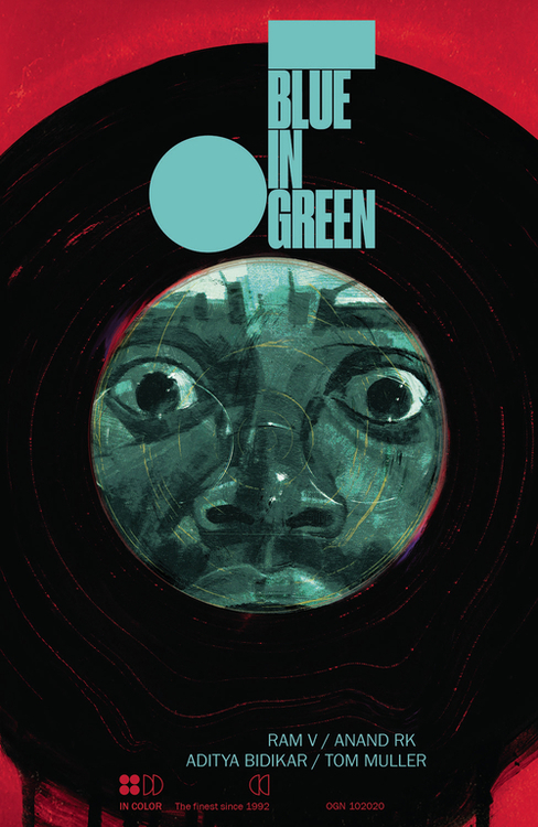 Blue In Green Graphic Novel (Mature)