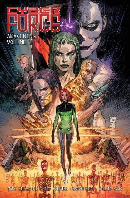 Image comics cyber force awakening tpb vol 01 mature 20180701