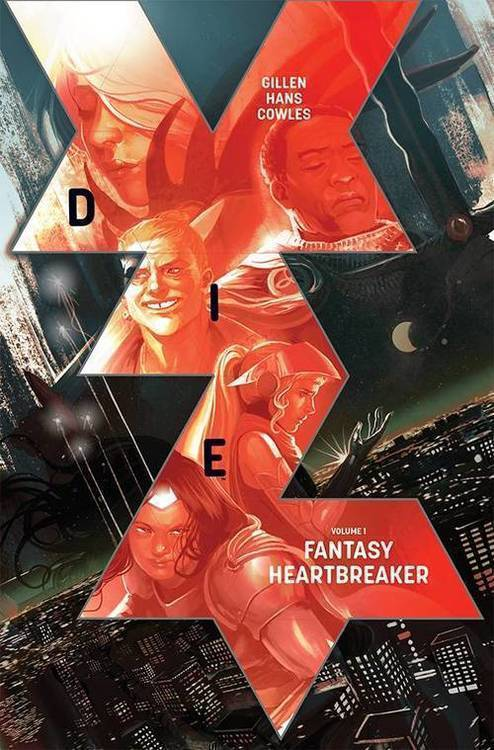 Die TPB Volume 01 Fantasy Heartbreaker (Mature)