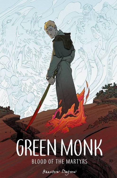 Image comics green monk blood of martyrs tpb 20180701