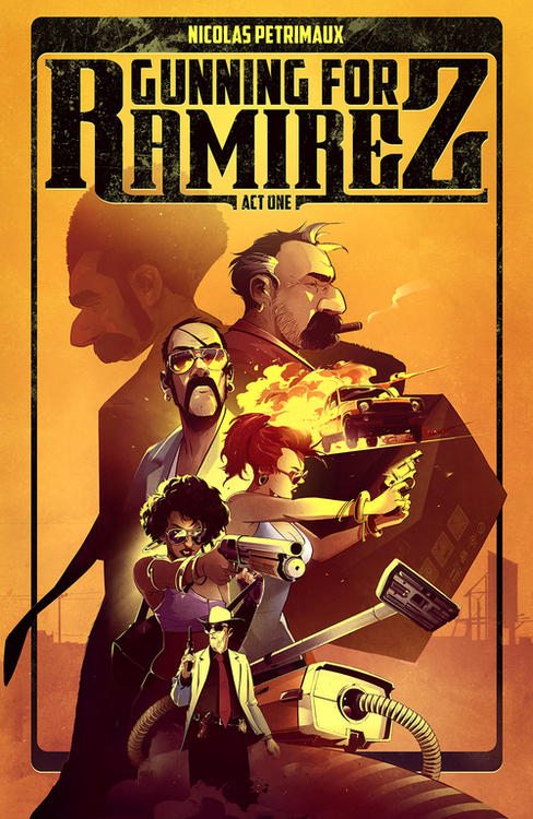 Image comics gunning for ramirez tpb volume 01 20200627