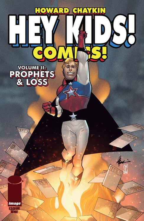 Hey Kids Comics Volume 02 Prophets & Loss (Mature)