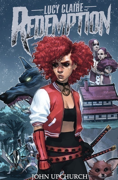 Lucy Claire Redemption TPB Volume 01 (Mature)