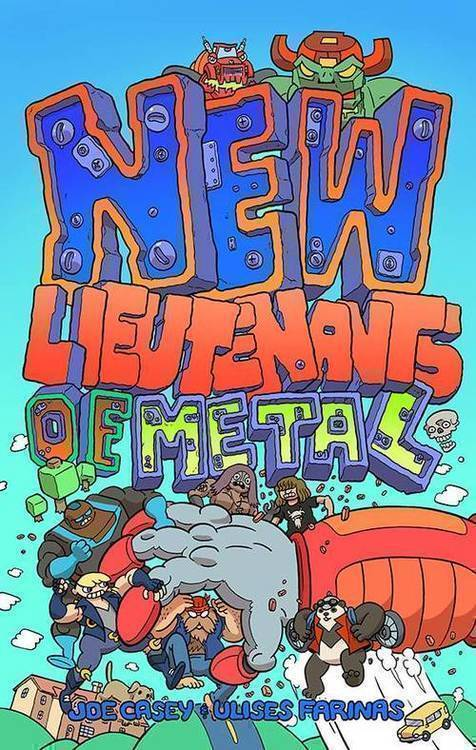 Image comics new lieutenants of metal tpb 20181025