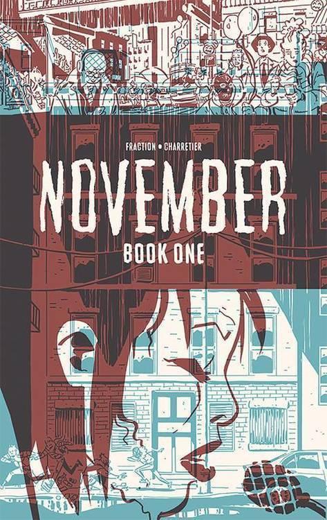 November Hardcover Volume 1