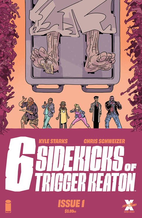 Six Sidekicks Of Triggered Keaton (Mature)