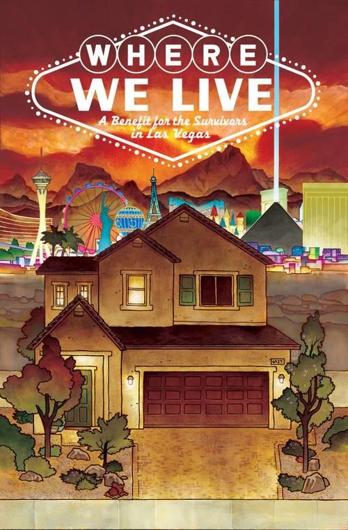 Image comics where we live las vegas shooting benefit anthology tpb 20180302