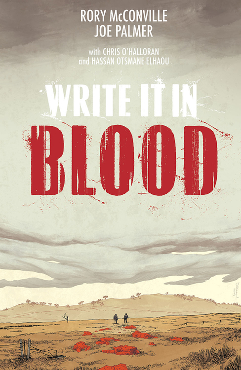 Write It In Blood TPB (Mature)