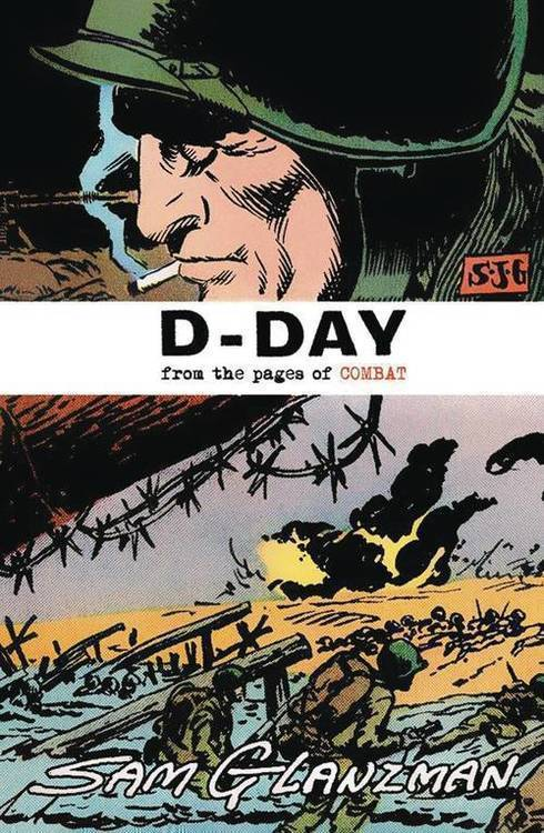 It s alive d day from pages of combat one shot glanzman cvr 20181231