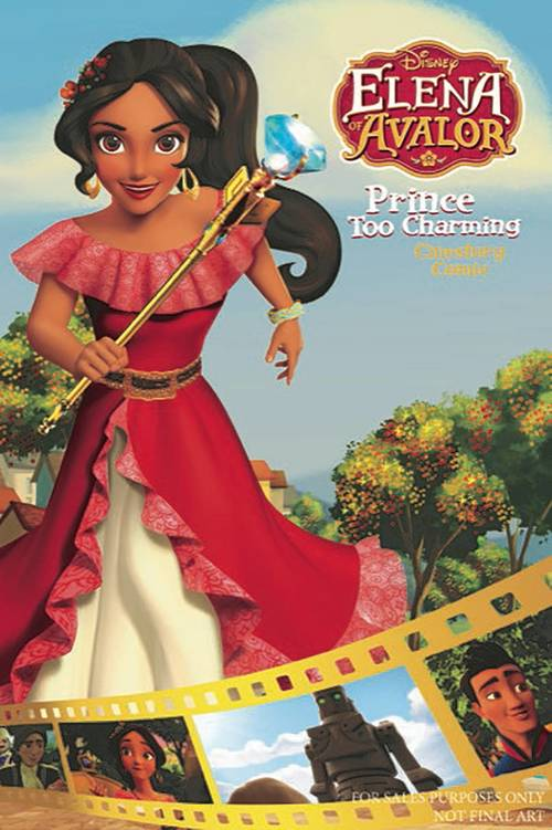 Joe books inc disney elena avalor prince too charming one shot 20180329