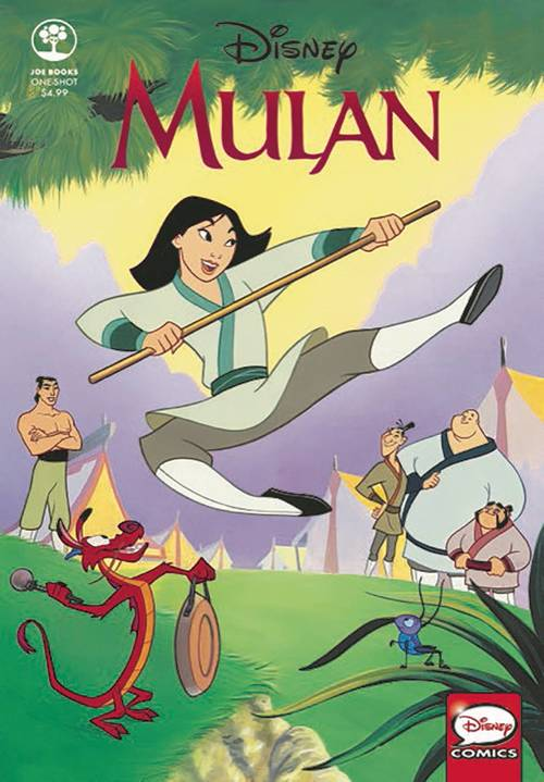 Joe books inc disney mulan one shot 20180329