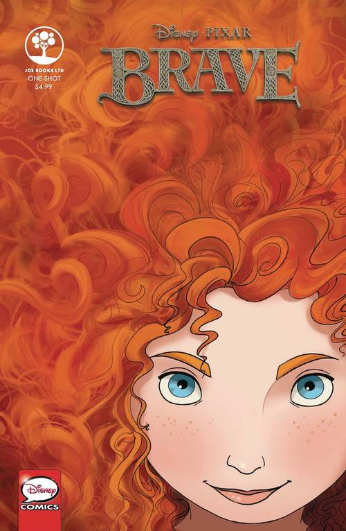 Joe books inc disney pixar brave one shot 20180203