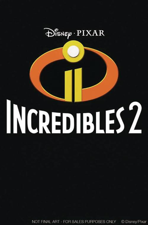 Joe books inc disney pixar incredibles 2 one shot 20180329