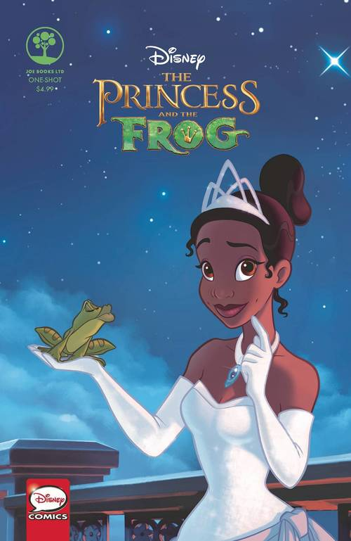 Joe books inc disney princess and the frog one shot 20171231